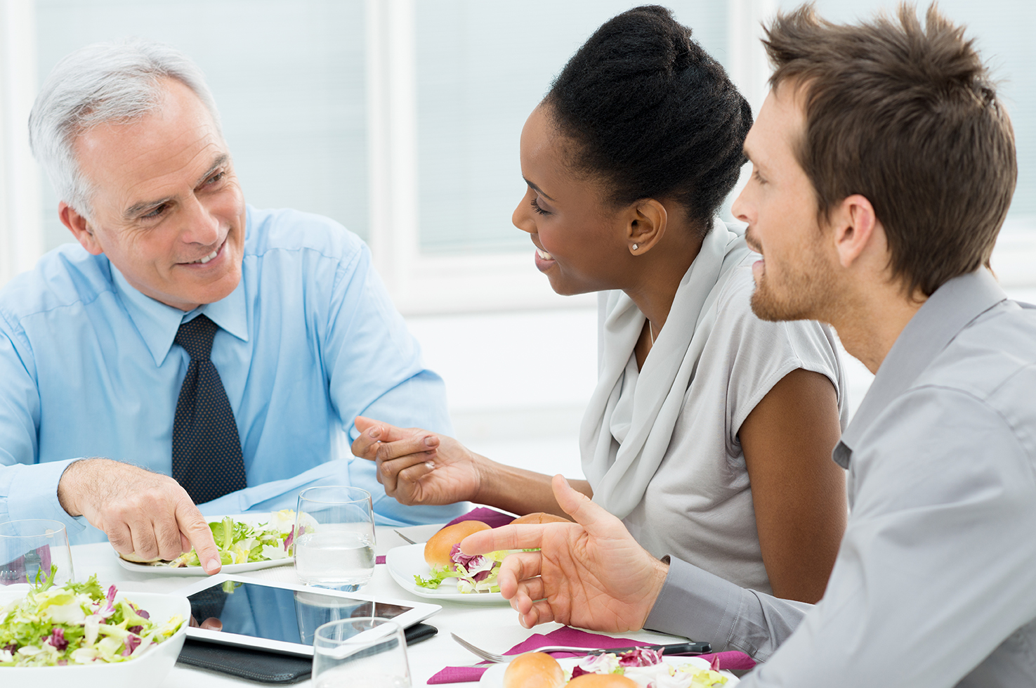 bigstock-Business-Colleagues-Eating-Mea-46401748