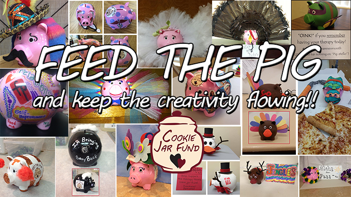 Feed the Pig-Piggy Collage
